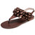 Lostisy Women Laciness Pure Color Buckle Sandals