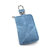 Solid Faux Leather Coin Purse Key Holder For Men Women