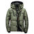 Mens Winter Outdoor Thick Warm Down Jacket Insulated Parka Outerwear