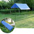 300x300cm Outdoor Camping Tent Sunshade Rain Sun UV Beach Canopy Awning Shelter Beach Picnic Mat Ground Pad