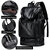 Men Leisure Travel Multifunctional Multi-Carry Multi-Position Backpack With Charging Port