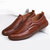 Men Casual Comfy Microfiber Business Leather Oxfords