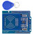 NFC Shield RFID RC522 Module RF IC Card Sensor + S50 RFID Smart Card for UNO/Mega2560 OPEN-SMART for Arduino - products that work with official Arduino boards