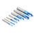 Drillpro 2-12mm 90 gradi Nano fresa per smusso patinata blu 2 flauti fresa CNC