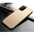 iPhone 11 6.1インチ用Mofi Shockproof Anti-fingerprint Frosted Ultra-thin PC Hard Protective Case