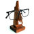 Wooden Nose Shaped Sunglasses Spectacles Eye Glasses Holder Stand Display Decor