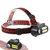 XANES® NF-611 LED + 2COB 650LM Farol de 4 modos Farol rotativo multifuncional USB 90 ° Rotatable USB recarregável À prova d'água Acampamento ao ar livre Caminhadas Ciclismo Faróis de pesca 18650