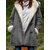 Casual Hooded Cotton Blend Thick Coats