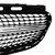 Front Diamond Style Grille Grill For Mercedes Benz W212 E Class E200 E250 E350 E550 2014-2016