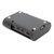Raspberry Pi 4 Model Bの黒/透明保護ABSケースサポート冷却ファン