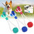 Multifunction Pet Molar Bite Toy with Suction Cup Pet Supplies Rubber Ball Pet Toys
