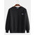 Men's New Trend Round Neck Loose Pullover Fashion Casual Bottoming Sweatshirt