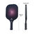Lightweight Pickleball Set 2 Paddles Grip Carbon Fiber Polymer Honeycomb Core Sports Protective Gear