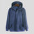 Corduroy Kangaroo Pocket Drawstring Hooded Sweatshirt