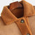 Mens Reversible Fleece PU Leather Double Pockets Thickened Mid Long Casual Coats