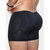 Mens Plus Size Butt Lifting Compression Underwear Front Opening Boxers Shapewear with Pads