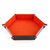 Quadrilateral/Hexagon Board PU Leather Dice Plate Game Board Gift Storage Tray Muiti-sided Device Polyhedral Dices Tray