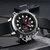 MEGIR 2090 Fashion Men Digital Watch Chronograph Luminous Display Waterproof Leather Strap Dual Display Watch