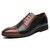 Men Brogue Carved Microfiber Leather Color Stitching Formal Business Oxfords
