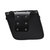 PU Leather Motorcycle Saddlebags Luggage Side Tool Bag Black Left Right Pouch For Harley