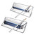 Single/Double Tube Portable Solar BBQ Grill Outdoor Camping Oven Fuel Free Stove Cooker