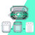 Bakeey Transparent Soft TPU Shockproof Non-slip Earphone Storage Case for Apple Airpods 1 / Apple AirPods 2