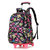 38L 6 Wheels Removable Luggage Trolley Backpack Rucksack Student School Bag Outdoor Travel