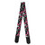 Flanger Electric Acoustic Guitar Strap Vintage National Style PU Leather Strap with Guitar Pick Holder