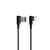 LIDNO 2.4A Type-C Micro USB Fast Charging 90 Degree Elbow Data Cable for Huawei P30 Pro Mate 30 5G Xiaomi 9Pro Redmi K30 S10+ Note 10 5G Oneplus 7T Pro