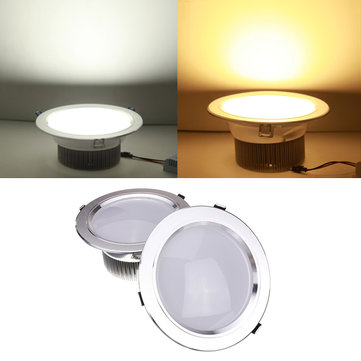 18W LED Downlight Ceiling Recessed Lamp Dimmable 110V + Driver