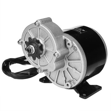 350W 24V/36V Brushed Electric Motor For 410 1/2''x1/8'' Chain Bicycle E bike Scooter