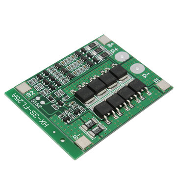 10pcs 3S 11.1V 25A 18650 Li-ion Lithium Battery BMS Protection PCB Board With Balance Function