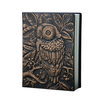 Vintage A5 PU Cover 100 Page Notebook Diary Journal Retro Notepad Travel Business Writing Planner