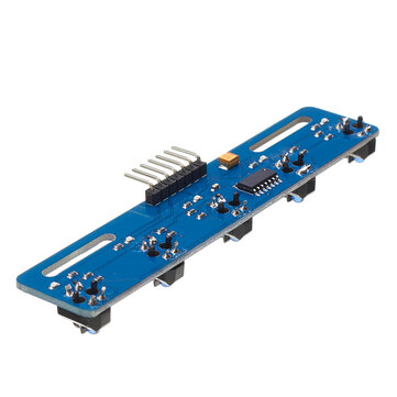 5 Channel Infrared Reflective PIR Sensor Module TCRT5000  5 Way/Road IR Photoelectric Switch Barrier Line Track Module