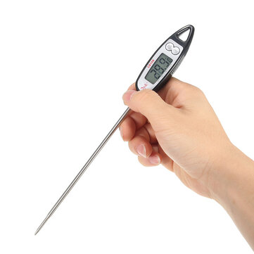 Digital Probe Cooking Thermometer Food Drink Temperature Sensor Outdoor BBQ Kitchen Tools