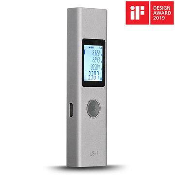 Misuratore di distanza del misuratore di distanza del misuratore di distanza Laser digitale intelligente ricaricabile ATuMan LS-1