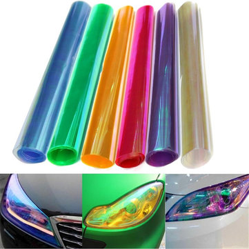 30x120cm Chameleon Car Light Film Koplamp Tail Cover Tint Change Sticker