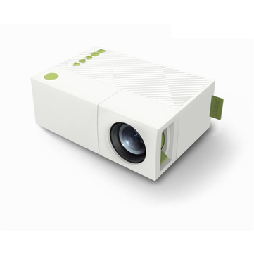 AAO YG310 Portable LCD Projector 1080p 1920 x 1080 Resolution 400-600 Lumens Remote Control Projector Home Theater