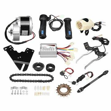"""Jogo elétrico do controlador do motor do """"trotinette"""" da conversão da bicicleta de 36V 250W para a bicicleta ordinária 22-28inch"""
