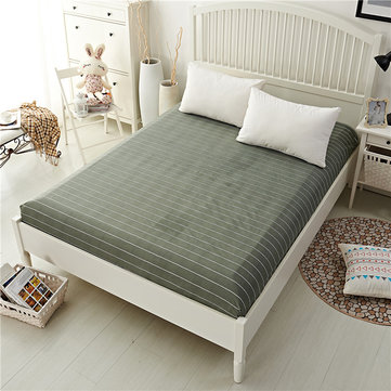 Honana WX-05 100% Polyester Fashionable Fitted Elastic Bedsheet Mattress Cover Bedding Linens Bed Sheets