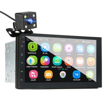 iMars 7 Pollici 2 Din Car MP5 Player per Android 8.0 2.5D Screen Stereo Radio GPS WIFI bluetooth FM con Rear fotografica