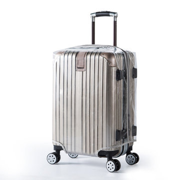 Outdoor Travel PVC Luggage Suitcase Protector Cover Case Waterproof Scratch Wear Resistant Trunk Cover