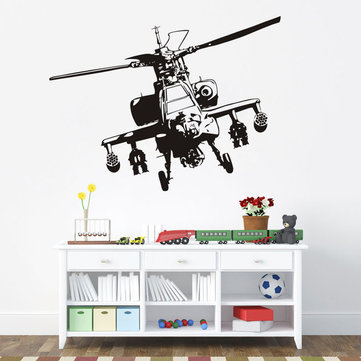 Home Decoration Wall Sticker Helicopter