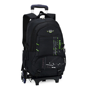 36L Children Kids Trolley Backpack Camping Travel Rucksack School Luggage Bag With Wheels