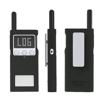 All-inclusive Anti-fall Walkie Talkie Protector Sleeve Anti-slip Silicone Soft Cover For XIAOMI Mijia 1S Walkie Talkie