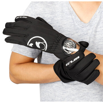 GUB S079 Touch Screen Anti-slip Gloves Motorcycle Outdoor Sport Warm Full Finger Cycling Windproof MTB Bike