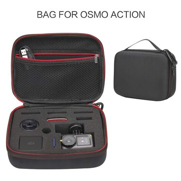 DJI Osmo Action Accessories Carry Case Handheld Bag Travel Case Storage Box for DJI Osmo Action Camera