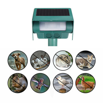 Solar Ultrasonic Vibrating Rodent Mole Solar Snake Repeller Sonic Wave Gopher Repeller Vole Cha-ser Deterrent Animal Repeller