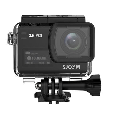 SJCAM SJ8 PRO 4K 60fps Action Kamera Dual Screen Sport Kamera DV Ambarella H22 Chipsatz Big Box