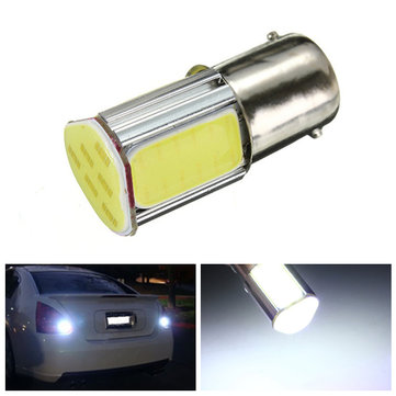 BA15S 1156 P21W 382 DC12V 5W 500LM White 4COB LED Car Turn Lights Rear Reversing Bulb